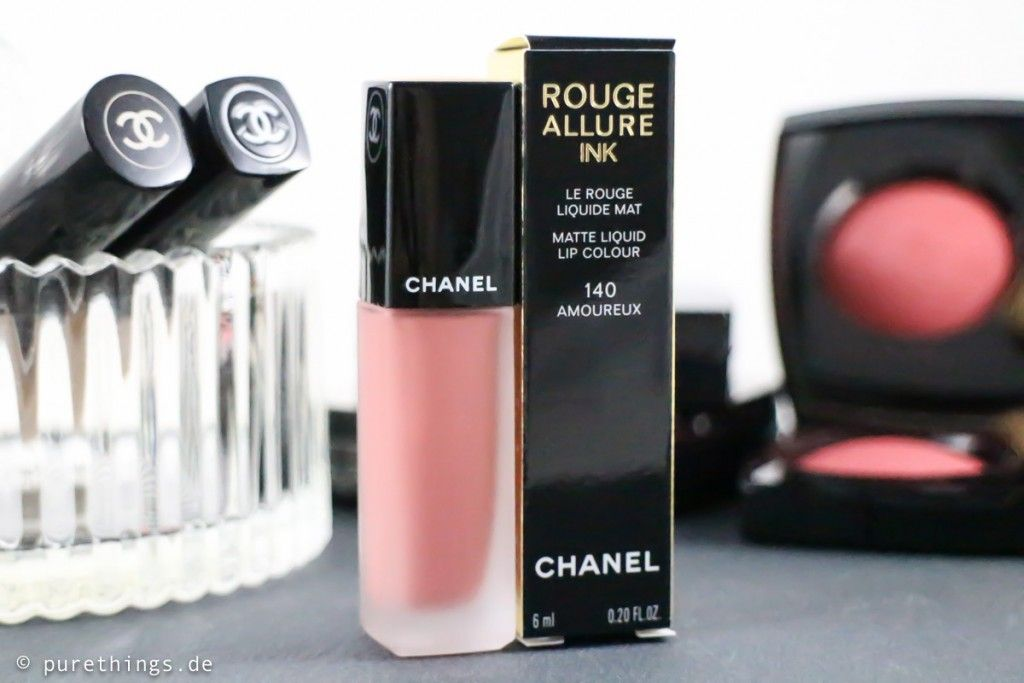 chanel rouge allure ink amoureux nr 140 lippenstift beauty pinterest. Black Bedroom Furniture Sets. Home Design Ideas