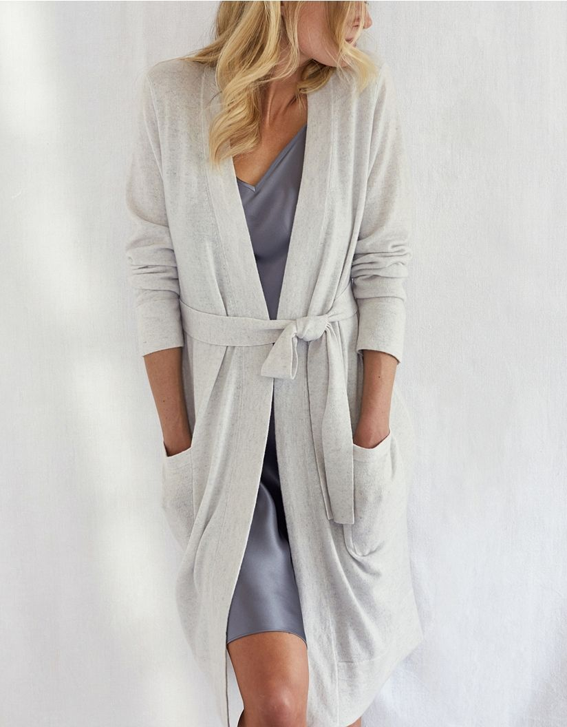 Cashmere Short Robe | want 2018 | Pinterest | Short robe, White ...
