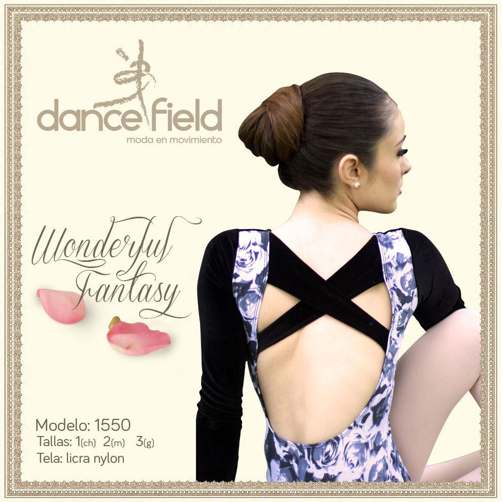 Wonderful Fantasy mod. 1550 Disponible en Ch, M y G Lycra y nylon #Ballet #Ropa #Baile #Venta ventasweb@dancefield.com.mx