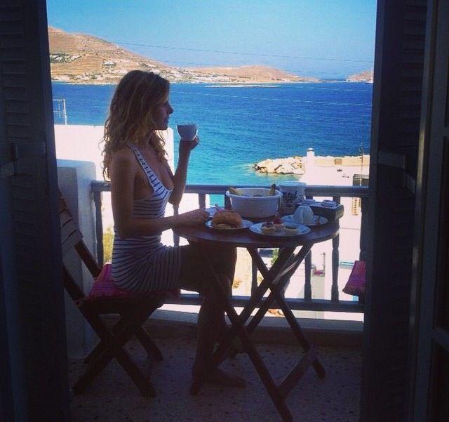 Kalimera- buongiorno!!! Grecia 2014- Paros- colazione. A Naussa