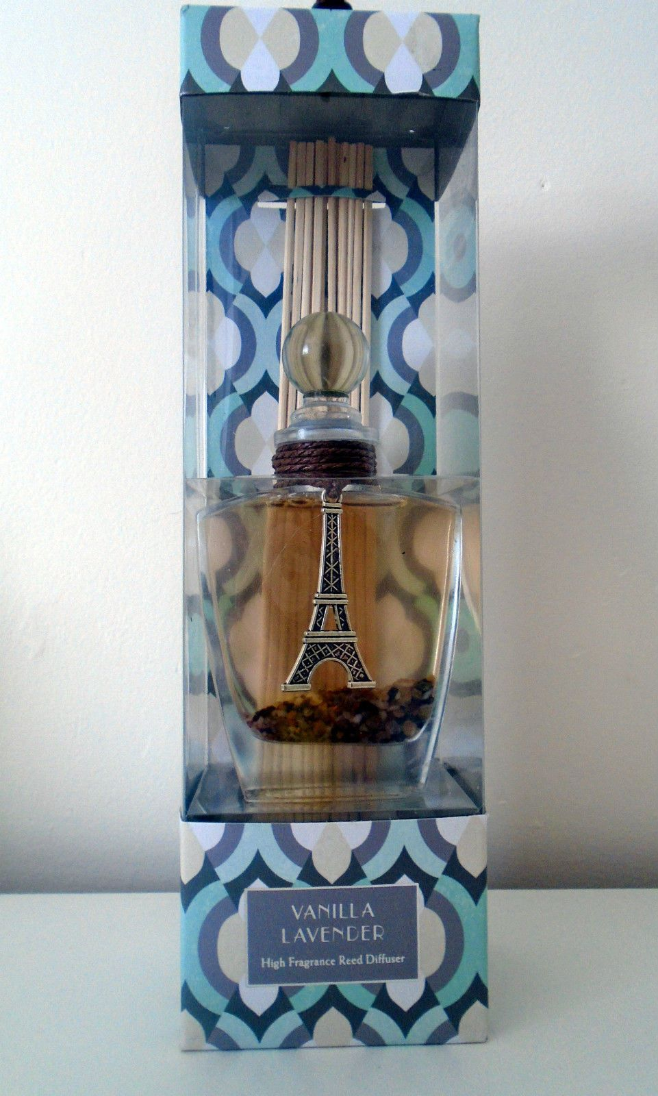 Gift boxed reed diffuser by gc fragrance vanilla