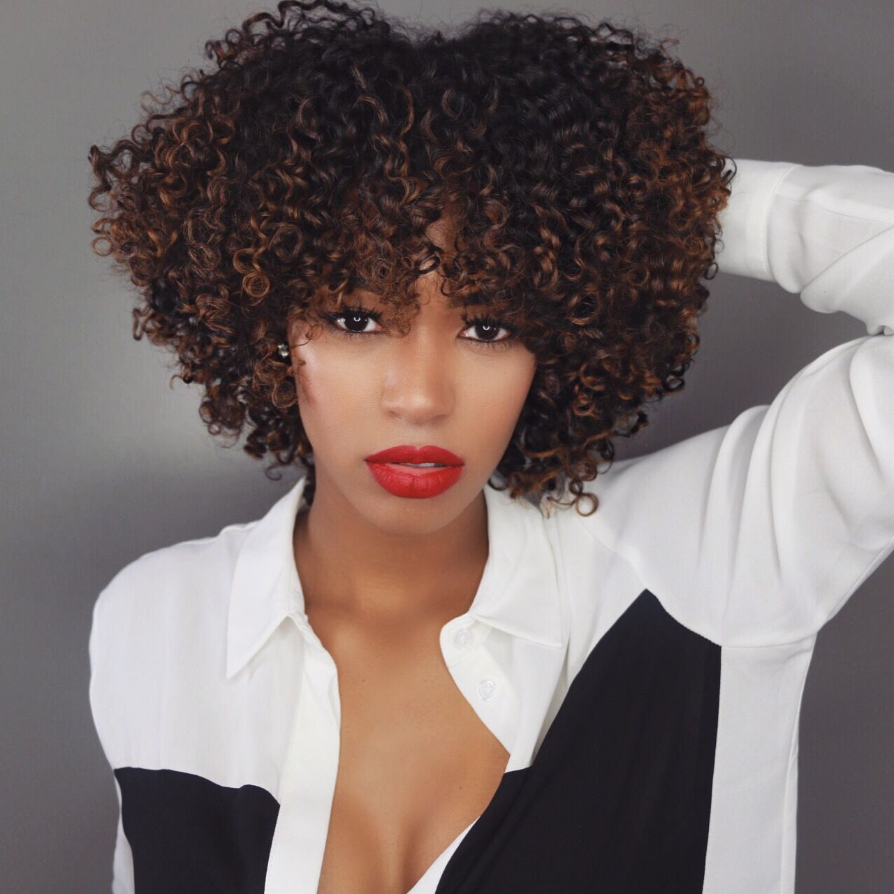 5 medium length afros you'll love | amazing natural hair | curly