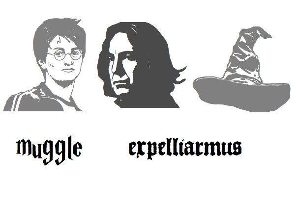 Harry Potter Pumpkin Stencils Printable