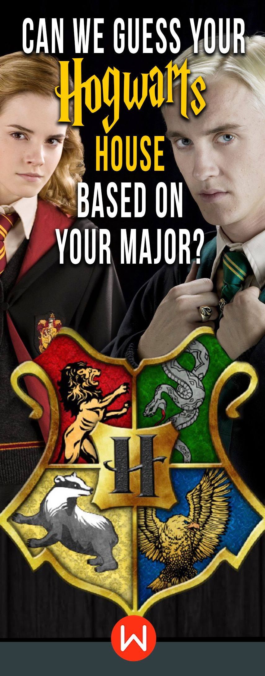 Quiz Can We Guess Your Hogwarts House Based on Your Major