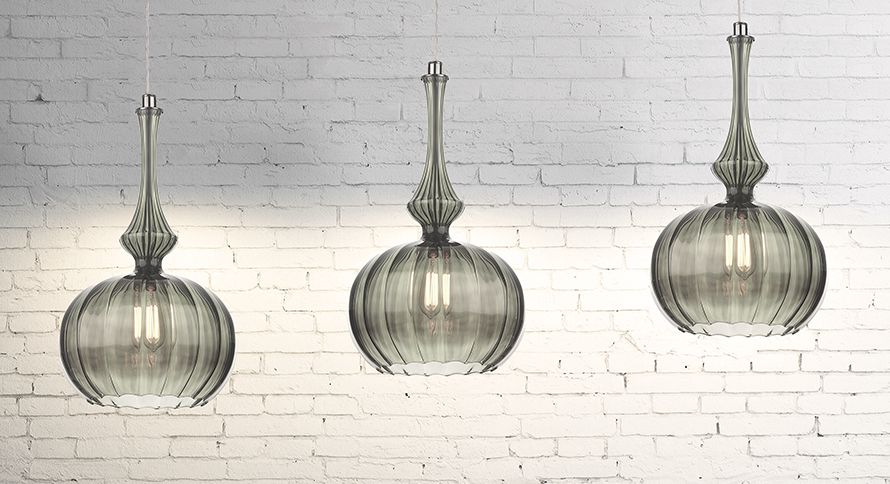 Introducing Zola Otaka And Narcise Glass Pendant Light