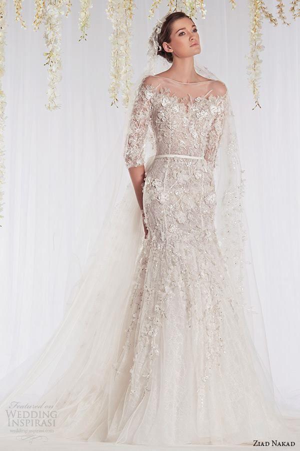 Ziad Nakad Wedding Dress 2015 Bridal Collection