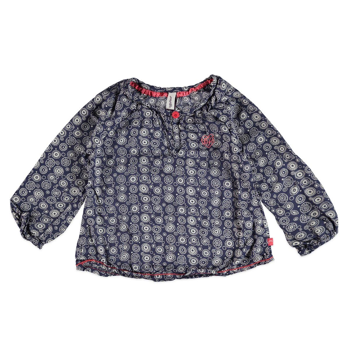 girls blouse printed