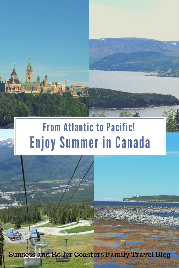 Summer in Canada Amazing Holiday Destinations You'll Love