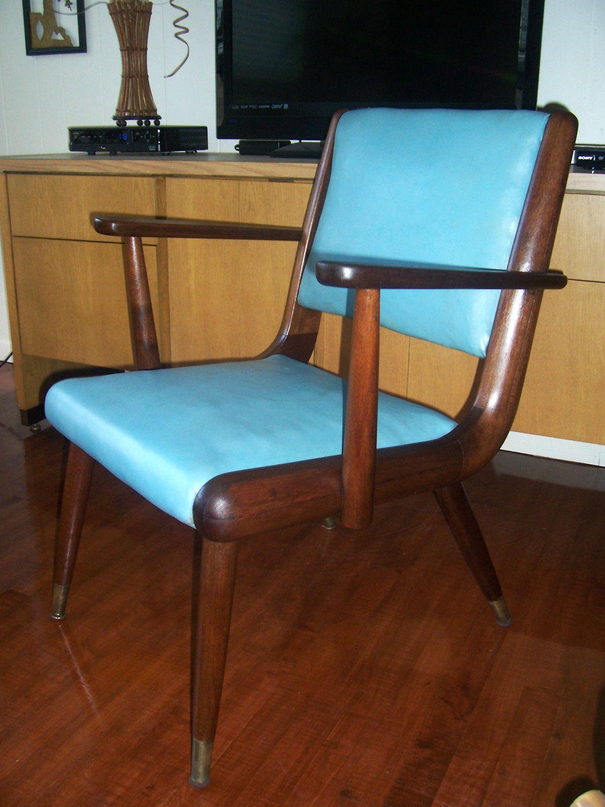 Amazing Solid Walnut Arm Chair | The Buckstaff Company | Oshkosh, WI
