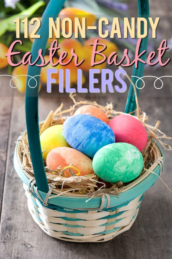 112 non edible easter basket fillers basket ideas easter 112 non edible easter basket fillers ideas fill the easter baskets with something other than negle Images
