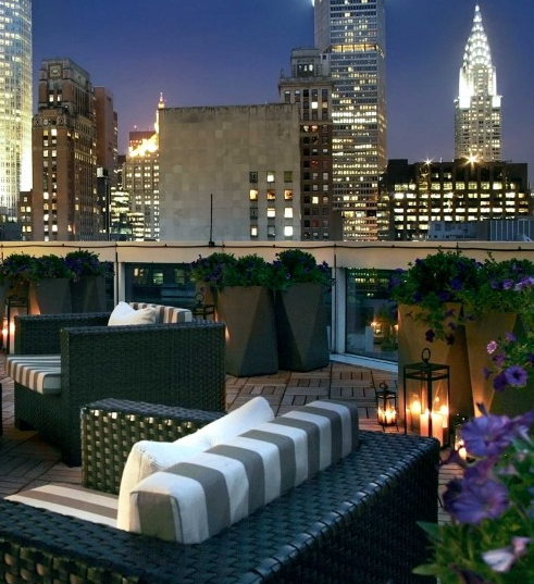 Rooftop Views In New York City Rooftop Bars The Press Lounge New York New York New York Christmas New York City