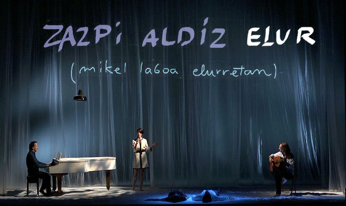 ZAZPI ALDIZ ELUR de Tanttaka Teatroa
