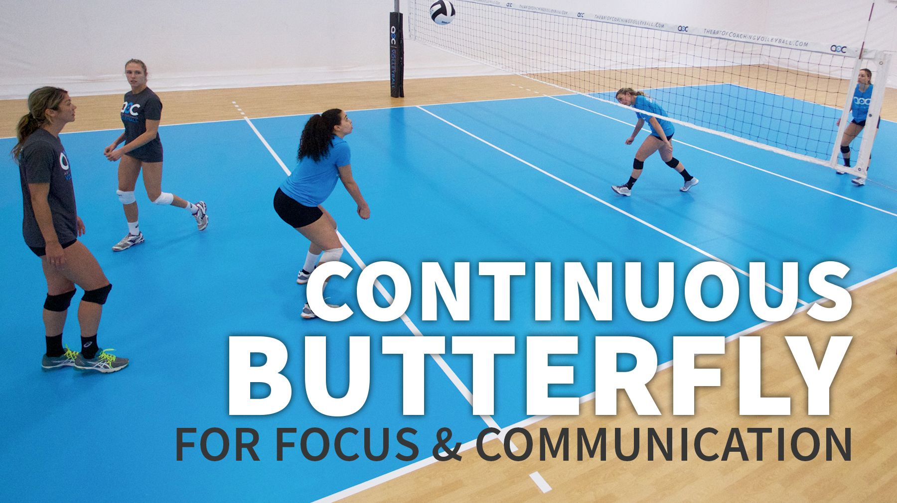 Continuous Butterfly To Train Focus And Communication Skills The Art Of Coaching Volleyball Volleyball Skills Volleyball Drills Coaching Volleyball
