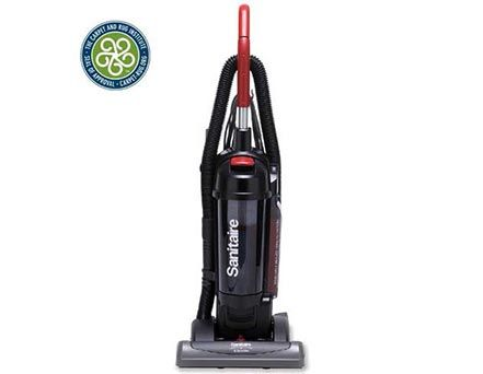 This Vacuum Offers The Ultimate In Bagless Filtration With Its Clean Air System And Extra Large Dirt Cup Cri Green Label Certifie Vacuums Upright Vacuums Hepa