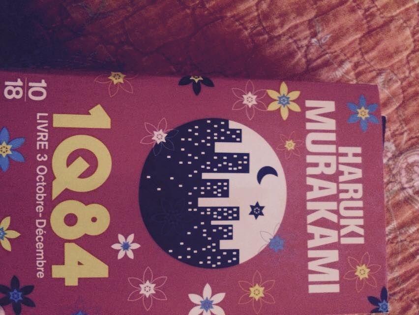 1 Q84 livre 3 d'Haruki Murakami (photo: Cécile Laurent)