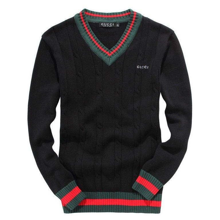 I Like This Sweater I Think It Would Be Nice For Wearing To Church Around Christmas Time Gucci Sweater Gucci Sweater Mens Mens Fashion Casual