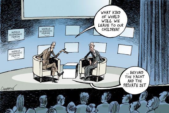 Davos is reflecting… | Cartoon, Davos, Cartoon memes
