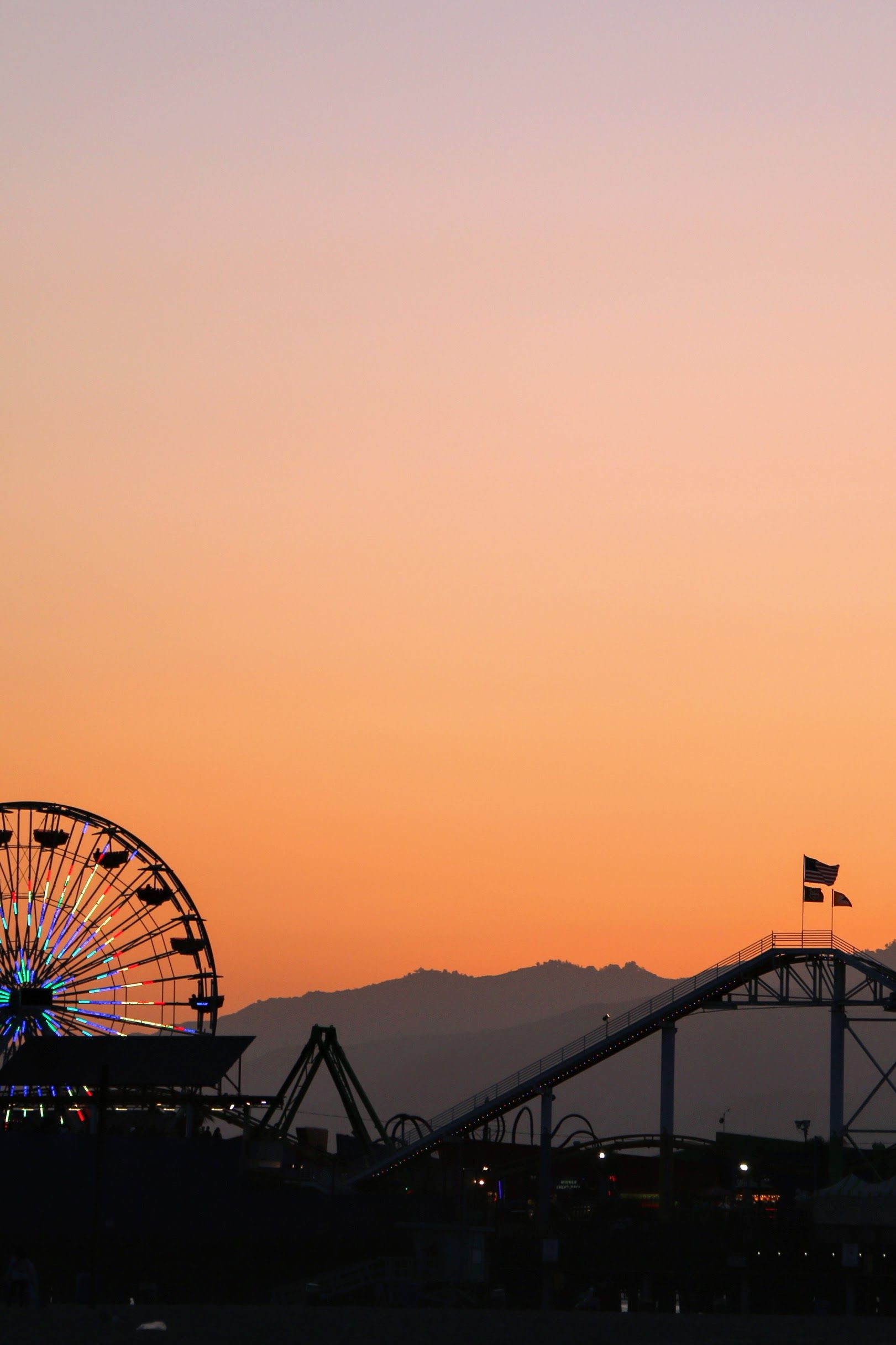 Los Angeles Sky Aesthetic City Wallpaper Aesthetic Pictures