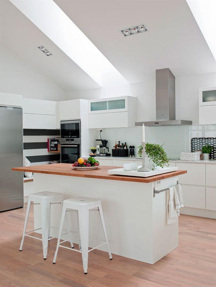 Una casa perfecta para vivir, trabajar e ir de vacaciones | Cocinas ...