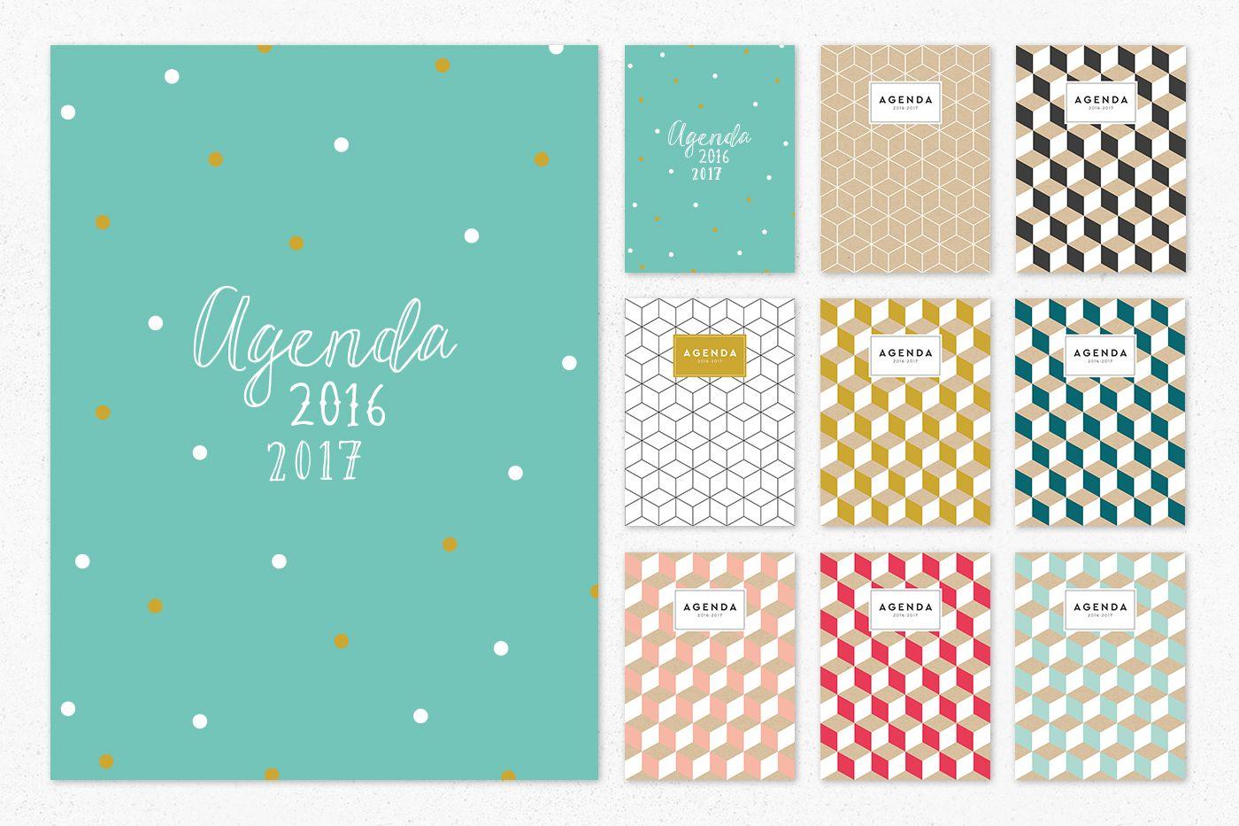 Couverture agenda imprimer listes tiquettes et bujo pinterest agenda imprimer agenda - Image pour fille a imprimer ...