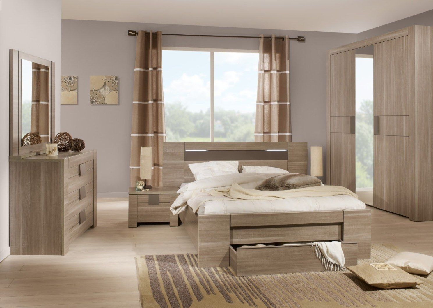 Master bedroom modern  Contemporary Bedroom Furniture u Simplicity and Neatness Can Say A
