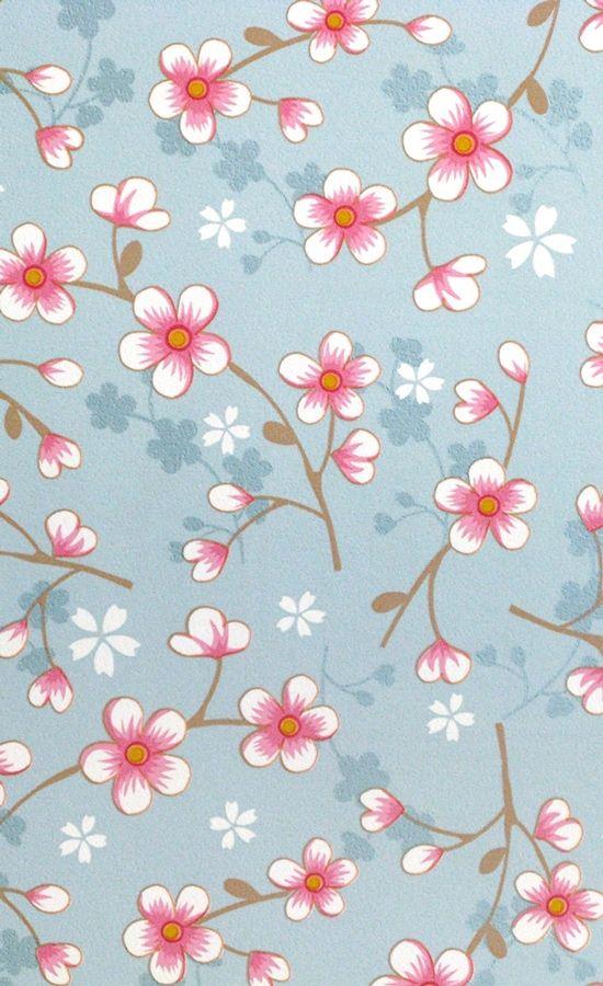 Papier peint Cherry Blossom - Pip Studio