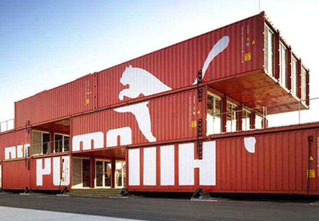 Дом из контейнеров.