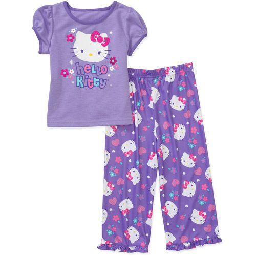 $9.50 Hello Kitty Baby Girls' 2-Piece Tee and Pant??PJ Set