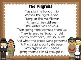 Schedulin' Sunday: Thanksgiving Pilgrims