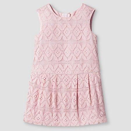 Toddler Girls' Pink Lace Dress - Genuine Kids from Oshkosh™ : Target