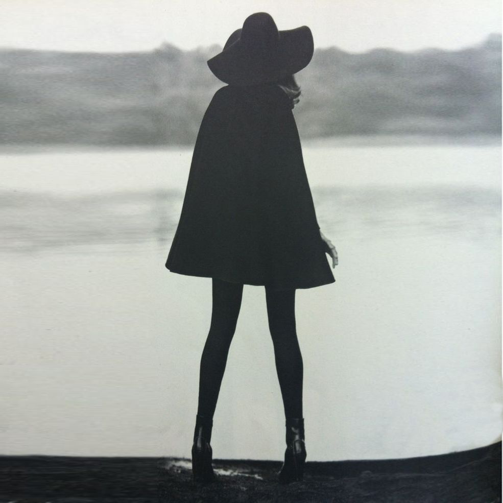 Black Floppy Hat by StyleRepertoire.com