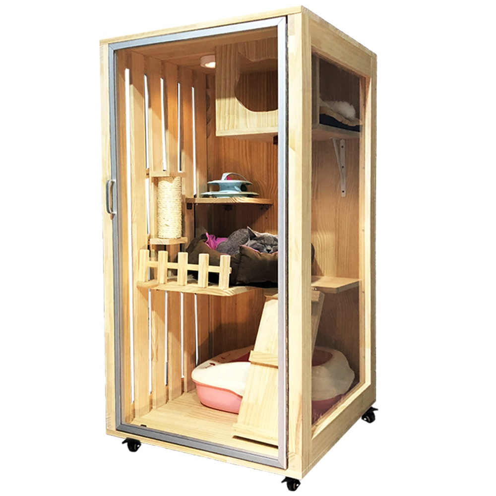 Wholesale Luxury Large Indoor Imported Newzealand Wooden Cat House Buy Wooden Cat House Cat House Indoor Cat Wooden Cat House Cat Houses Indoor Cat House Diy