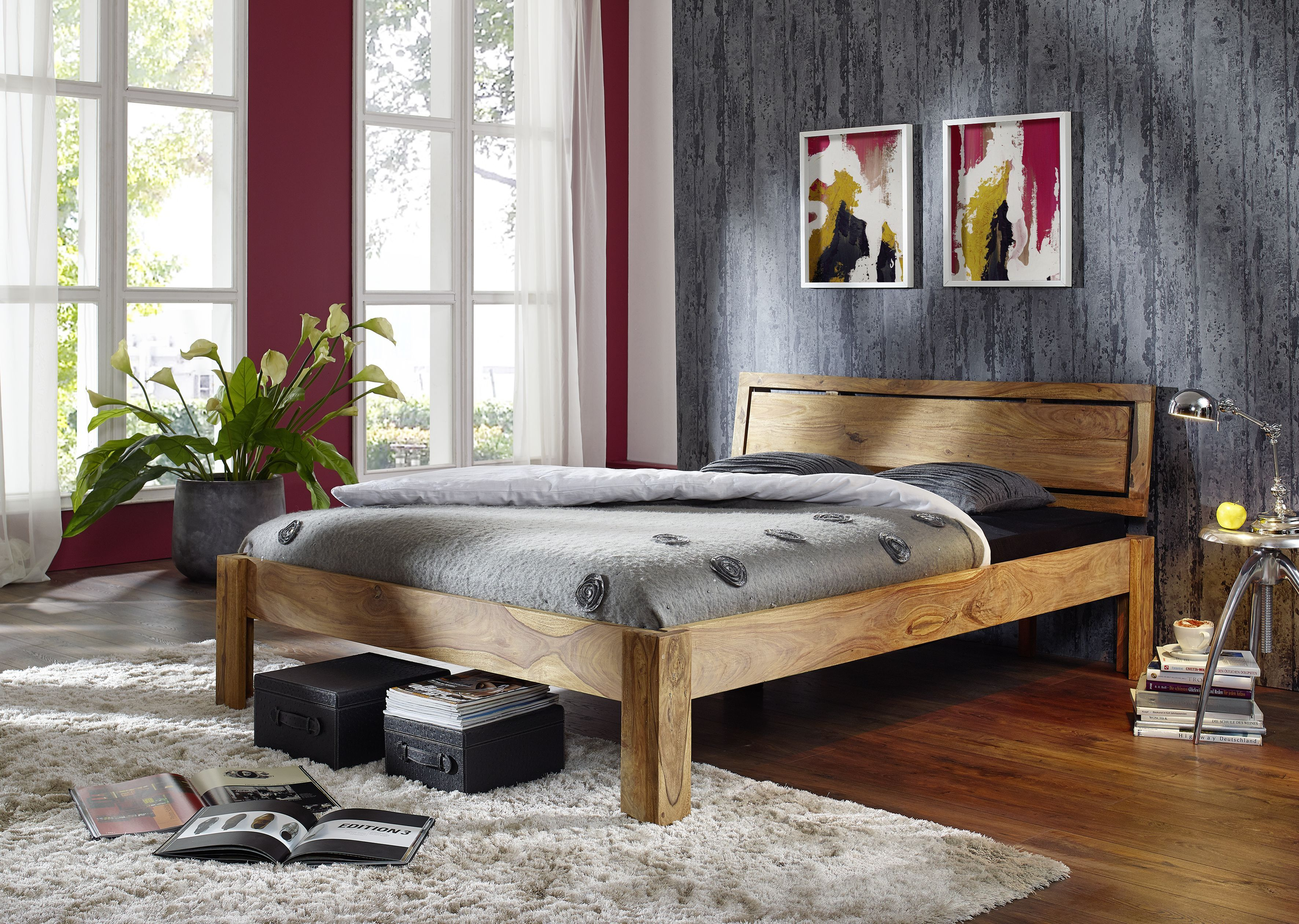 Schlafzimmermöbel Massivholz ~ Pin by adam suslowicz on bett aus massivholz pinterest
