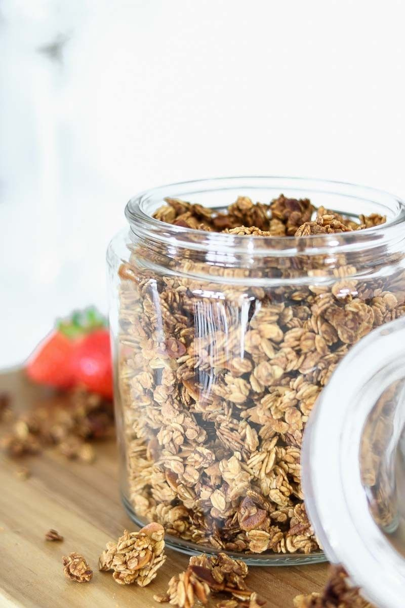 Rezept: Homemade Granola - Rezept für das weltbeste Knusper Müsli