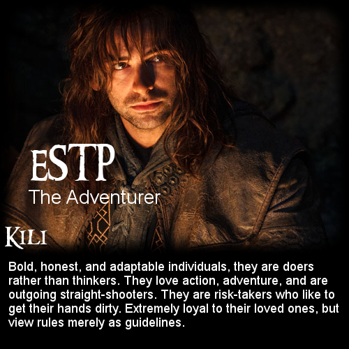 The Hobbit: Battle of the 16 Personalities - Kili [ESTP ...