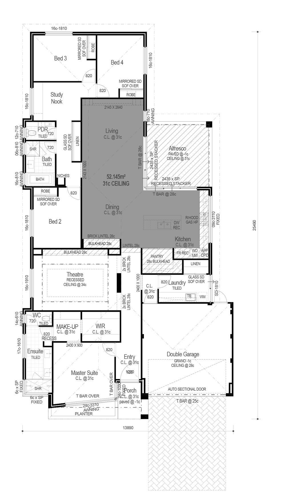 Ocean Series The Charleston Floorplan Floor Plans House Floor Plans