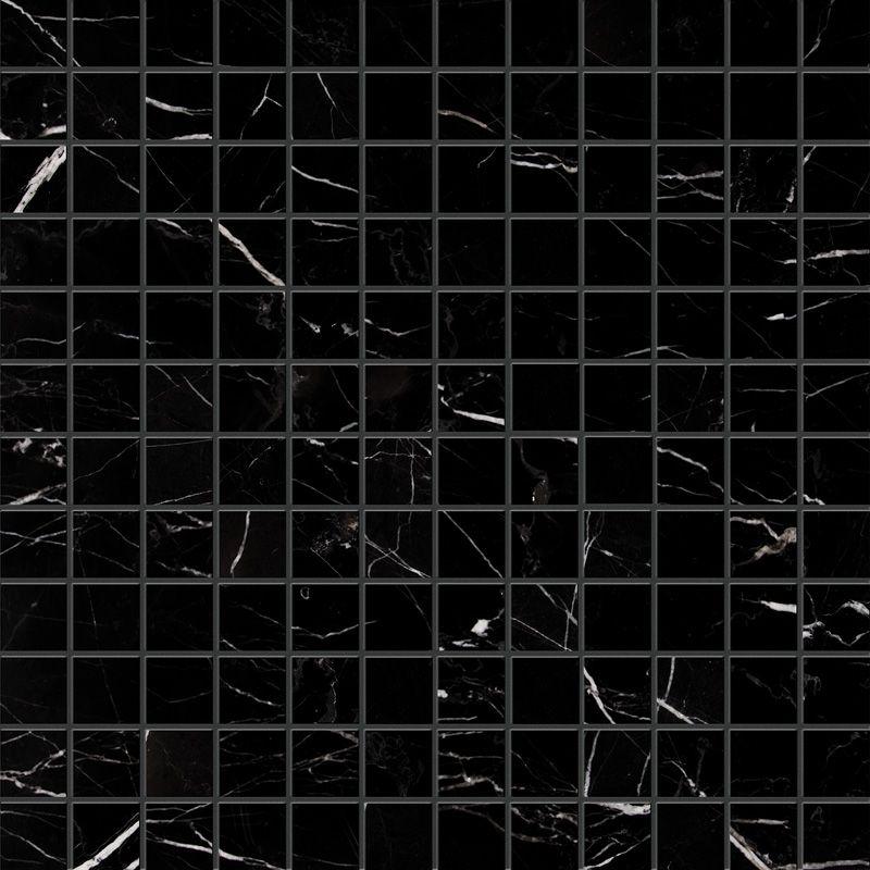 Marsala Country Floors Marble Mosaic Black Mosaic Marble Square