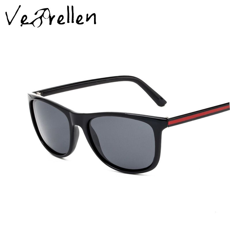 edae93ed8f2 VeBrellen Men Driving Polarized Sunglasses Elastic Frame Brand Design Male  Women Classic Square Sun Glasses VJ098