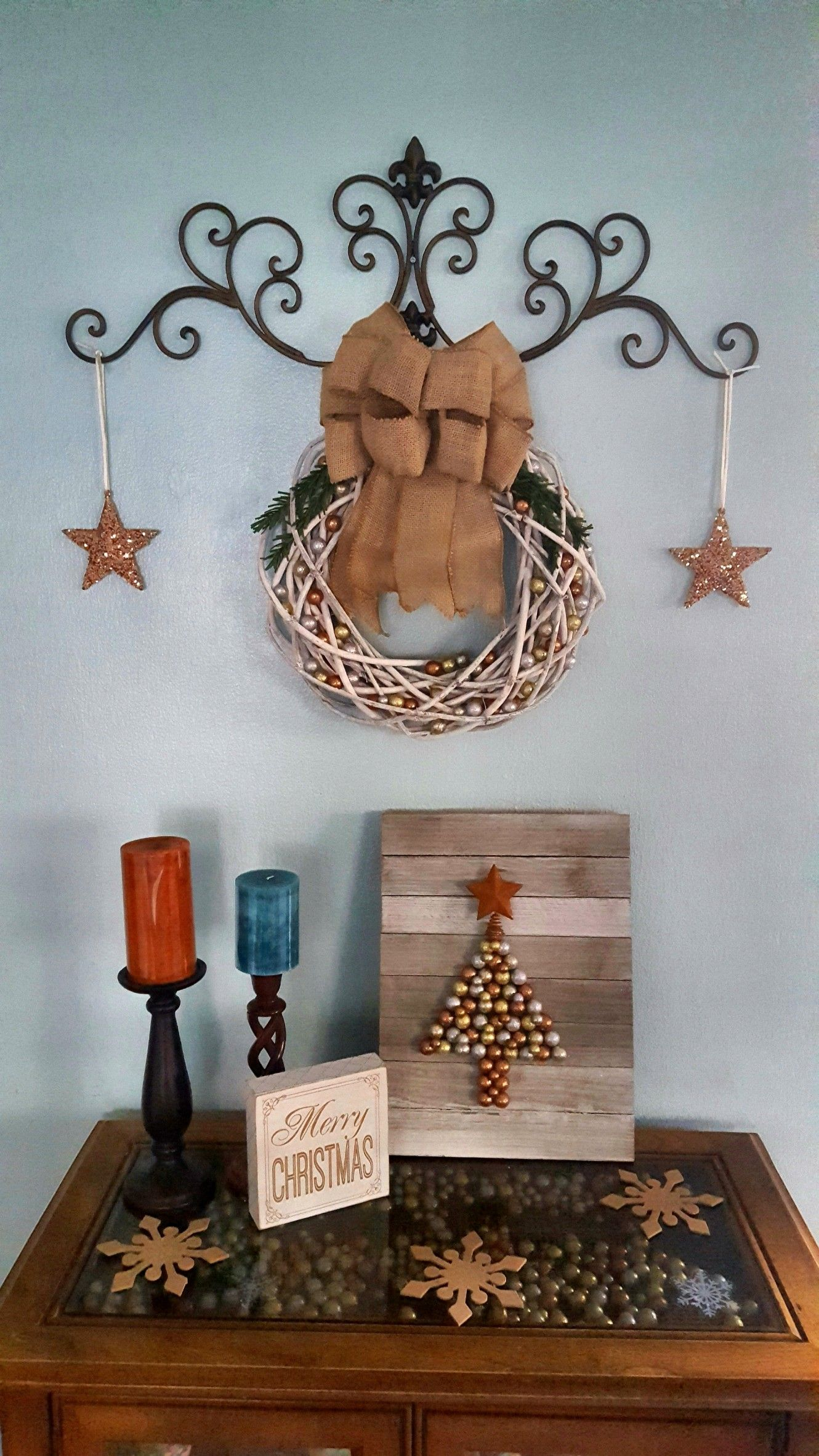 Non traditional holiday decor   Traditional holiday decor ... on Decorative Wall Sconces Non Lighting id=26060