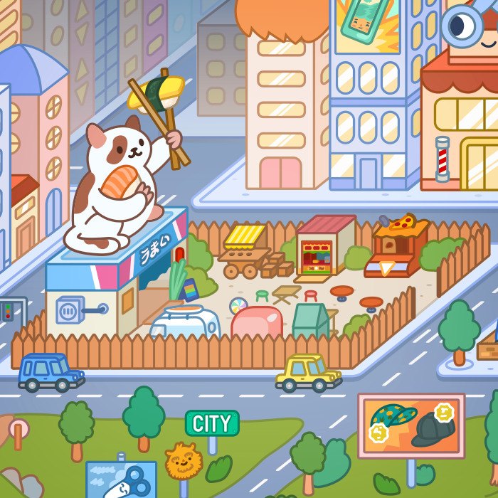 Toca Life City A New Way To Play Toca Boca Educational Illustration Create Your Own World Life