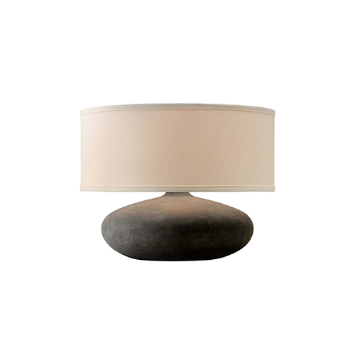 Troy Zen Alabastrino Table Lamp With Linen Shade Ptl1007 Bellacor In 2021 Table Lamp Lamp Troy Lighting