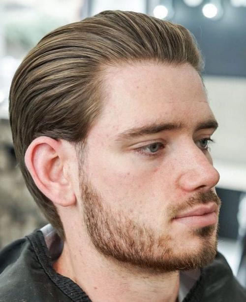 Top 35 Best Men S Slicked Back Haircuts Cool Slicked Back Hairstyles For Men In 2020 Men S Style Slic Slick Back Haircut Slick Hairstyles Slicked Back Hair