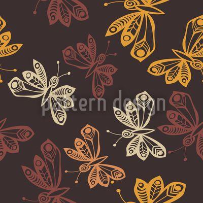Butterflies In Autumn Repeat