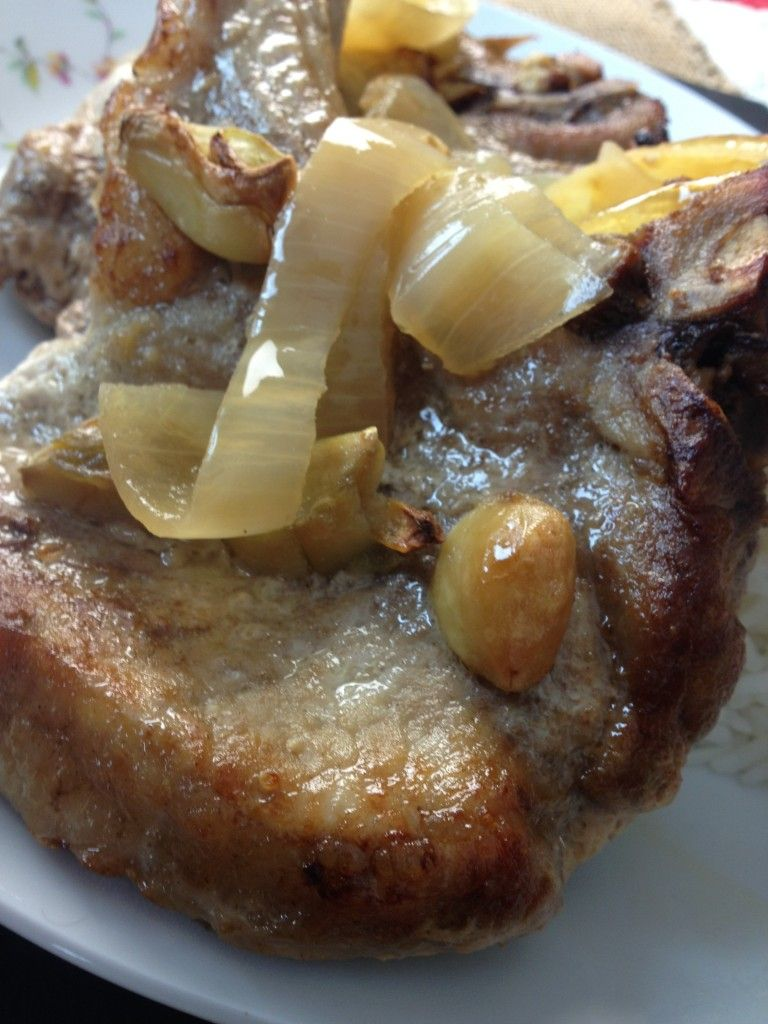 How To Cook Pork Chop Steak With Citrus And Soy Sauce