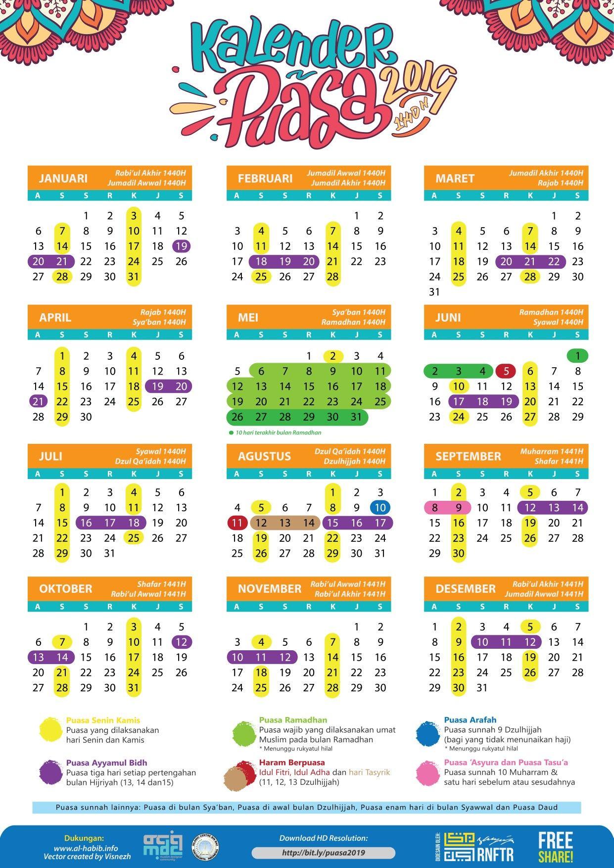Calendar Islam 2019 - Free Download Printable Calendar ...