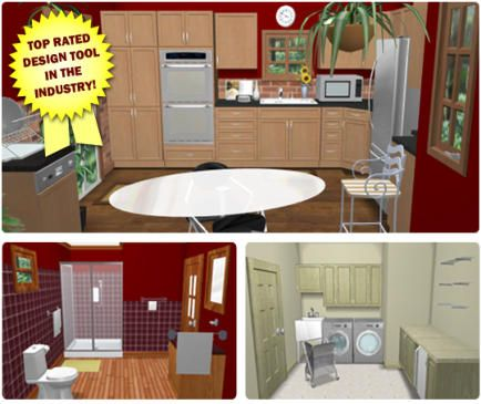 Free Virtual Kitchen Designer  House To Home  Pinterest  Bath Alluring Kitchen Designer Tool Free Design Decoration