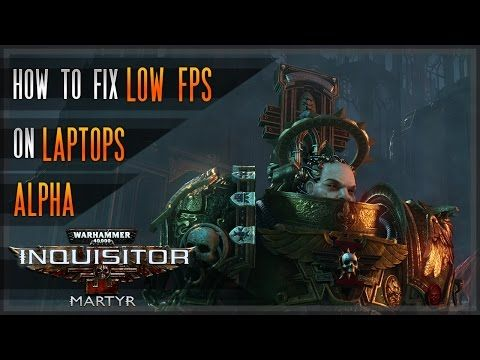 New video is up: Warhammer 40K: Inquisitor - Martyr - How to