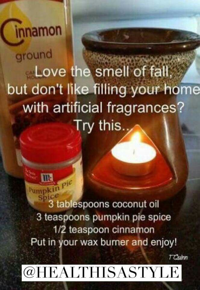 Natural scentsy fall