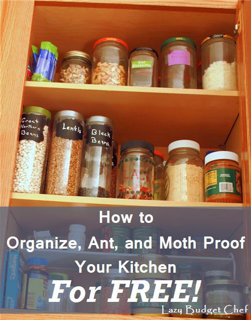 How to Use Free Mason Jars as Kitchen Organizers   Kitchen ...