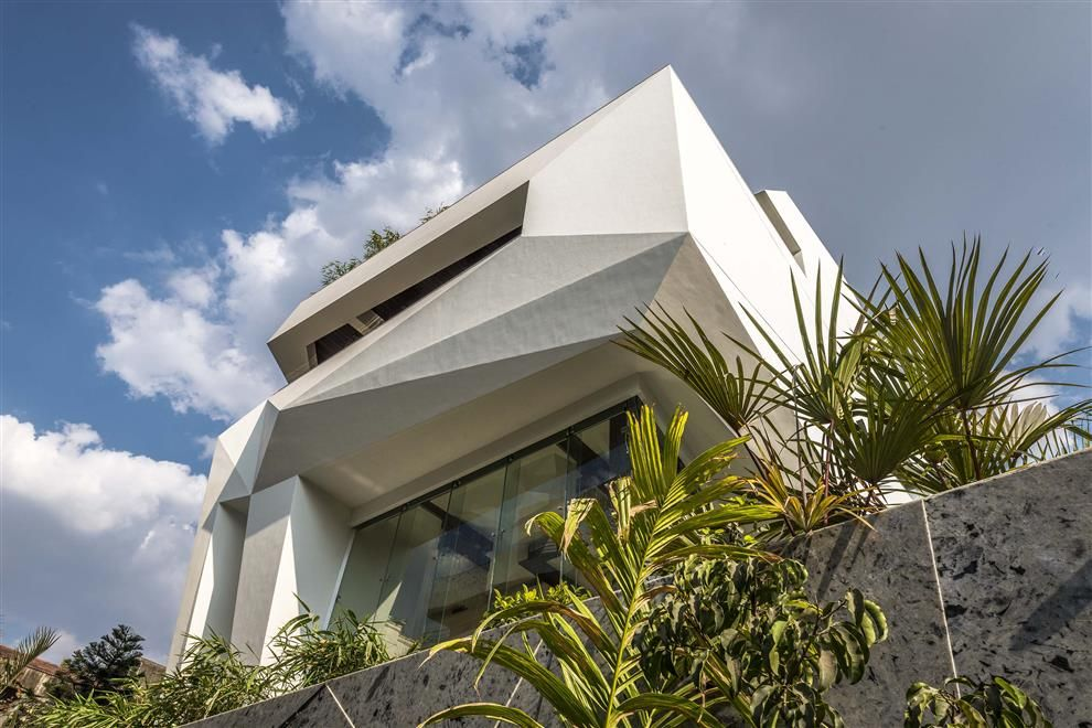 The Origami House: by Ar. Sanjay Puri, Mumbai